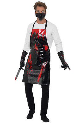 Butcher Halloween Costume (Brand New Bloody Surgeon/ Butcher Halloween Costume)