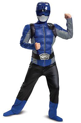 Brand New Power Rangers Blue Ranger Beast Morpher Classic Muscle Child Costume (Baby Power Ranger Costume)