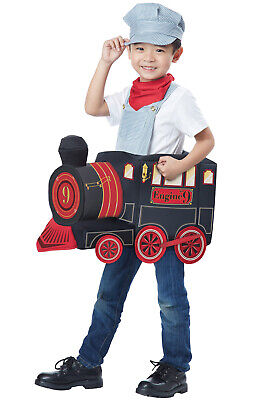 Brand New All Aboard Train Conductor Toddler Costume