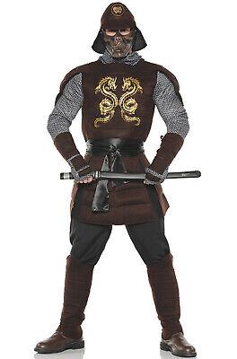 Brand New Ancient Japanese Samurai Warrior Men Adult Costume