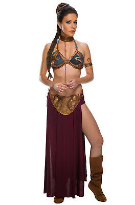 Brand New Star Wars Slave Princess Leia Adult Halloween Costume