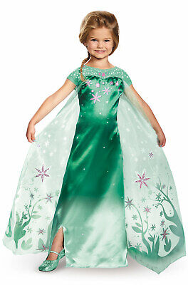 Deluxe Frozen Fever Elsa Child - Elsa Childrens Costume