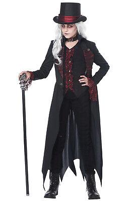 Gothic Vampiress Child Halloween Costume