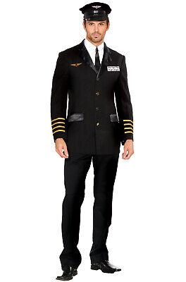 Brand New Mile High Pilot Hugh Jorgan Adult Costume