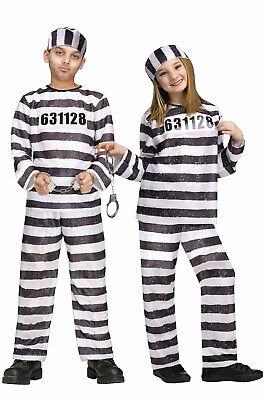 Prisoner Jailbird Child Halloween Costume