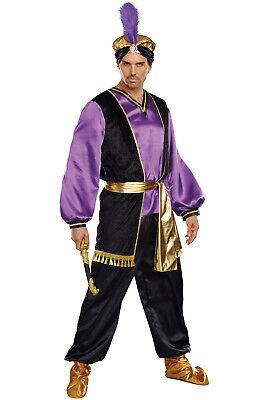 Brand New The Sultan Arabian Men Aladdin Adult Costume