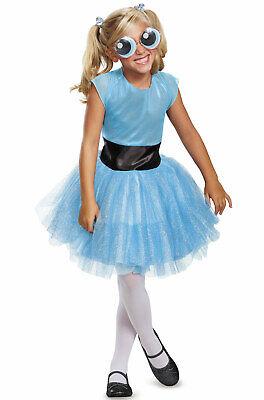Brand New Powerpuff Girls Bubbles Tutu Deluxe Child Costume](Bubbles Powerpuff Girl Costume)
