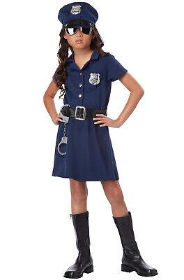 Police Officer Costume Child (Police Officer Girl Patrol Cop Dress Child)