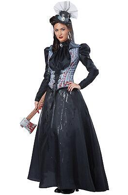 Brand New Lizzie Borden Axe Killer Murderer Women Adult - Murderer Costume