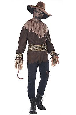 Killer in the Cornfield Horror Scarecrow Adult Halloween Costume](Killer In Halloween)