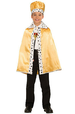 Brand New Storybook Fairy Tail Child Royal Cape (Gold)