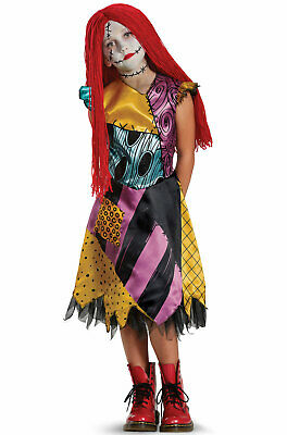 The Nightmare Before Christmas Sally Deluxe Child Costume](Sally Costume Kids)
