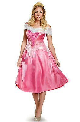 Brand New Disney Sleeping Beauty Aurora Deluxe Adult Costume (Disney Sleeping Beauty Adult Costume)