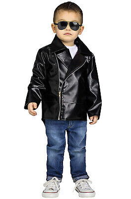 Brand New Rock 'N' Roll 1950s Grease Danny Jacket Toddler - Rock N Roll Costume
