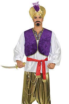 Brand New Desert Sultan Arabian Prince Aladdin Adult Costume