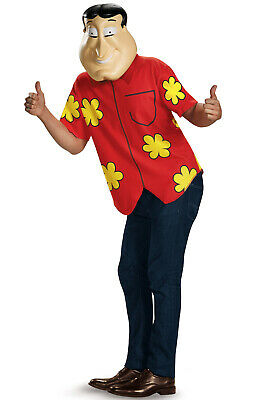 Brand New Family Guy Quagmire Deluxe Adult Costume](Adult Guy Costumes)