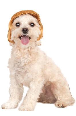 Brand New Pawlitical Billionaire Donald Trump Pet Wig](Donald Trump Wigs)