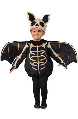 Make Bat Costume Halloween (Brand New Skele-Bat Skeelton Halloween Toddler)