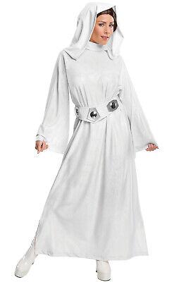 Star Princess Costume (Star Wars Princess Leia Hooded Dress Adult)