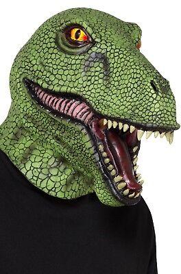 Adultos Dinosaurio Completa Látex Animal Carnaval Disfraz Máscara