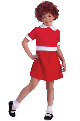 Brand New Little Orphan Annie Child Costume (S) - Orphan Costume Halloween