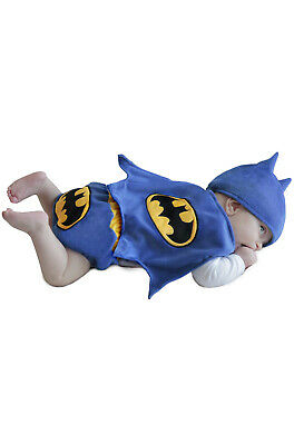 Superhero Batman Diaper Cover Set Infant Costume](Superhero Infant Costume)