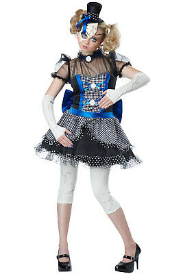Brand New Twisted Baby Doll Horror Women Adult Costume](Adult Baby Doll Costume)