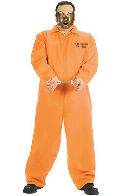 Plus Size Jail Halloween Costumes (Brand New Jail Prisoner Cell Block Psycho Plus Size Halloween)