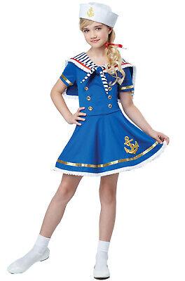 Brand New Sunny Sailor Girl Navy Child Costume