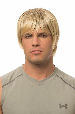 Blonde Surfer Wig (Costume Culture Dude Hippie Surfer Blonde Wig Halloween Costume Accessory)