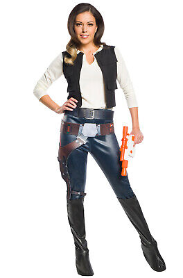 Brand New Star Wars Han Solo Female Adult Costume](Female Star Wars Costumes)