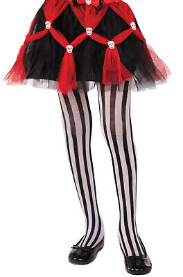 Adult Pirate Beetlejuice Striped Tights (Adult Striped Tights)