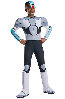 Brand New Teen Titans Go! Deluxe Cyborg Child Costume