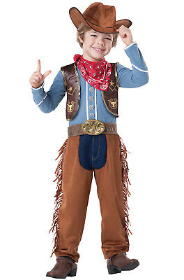 Western Cowboy Boys Outfit Toddler Costume - Western Cowboy Outfits
