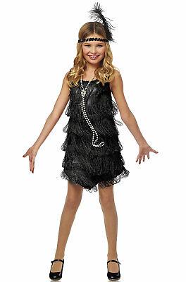 Fashion Flapper Costume (1920's Fashion Black Flapper Child)