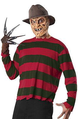 A Nightmare on Elm Street Freddy Krueger Adult Halloween Costume Set - A Nightmare On Elm Street Costume
