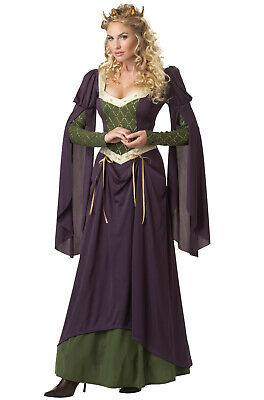 Brand New Lady in Waiting Maid Marian Medieval Renaissance Adult Costume