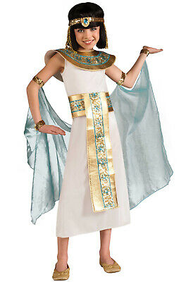 Brand New Egyptian Queen Blue Cleopatra Girls Child Costume](Egyptian Kids Costumes)