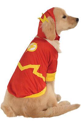 DC Comics Superhero The Flash Pet Dog Costume