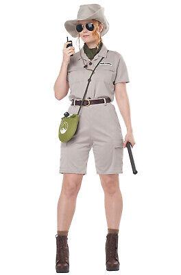 Park Ranger Costume Women (Brand New Anthropologist Safari Zoologist Park Ranger Adult)