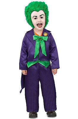 Brand New DC Comics Supervillain The Joker Toddler Costume