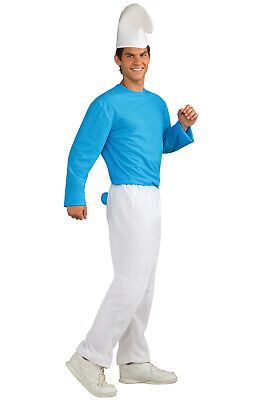 Brand New The Smurfs Adult Costume](Adult Smurf Costumes)