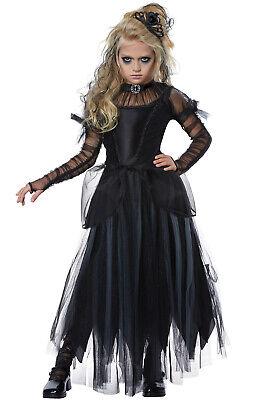 Children Witch Costumes (Brand New Dark Princess Witch Girls Child)