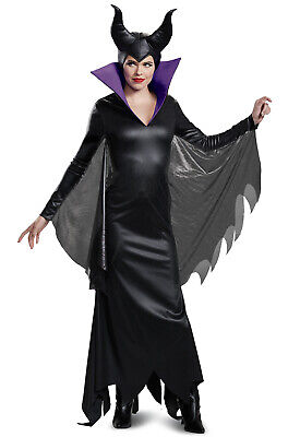 Disney Female Villains Costumes (Brand New 2018 Disney Villain Maleficent Deluxe Adult)