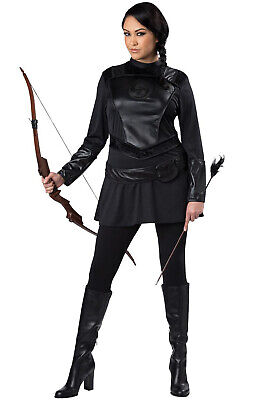 Brand New Warrior Huntress Hunger Games  Plus Size Costume](Costumes Hunger Games)