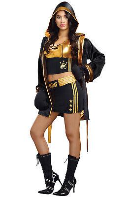 Brand New World Champion Female Boxer Adult Costume](Costume Boxer)