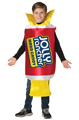 Brand New Jolly Rancher Cherry Funny Child Costume