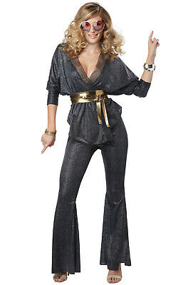 Retro 70's Costumes (70's Disco Dazzler Retro Women Adult)