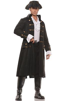 Herren-halloween-kostüm Seemann (Underwraps Kapitän Darkwater Piraten Seemanns Erwachsene Herren Halloween Kostüm)