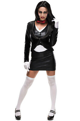 Saw Movie Horror Puppet Billy Female Adult Costume](Saw Costume For Women)